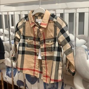 SOLD! Baby Burberry button down